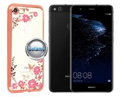 Spring dėklas nugarėlė Huawei P10 Lite telefonams rožinės spalvos