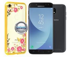 Spring dėklas nugarėlė Samsung Galaxy J5 (2017) J5 Pro telefonams aukso spalvos