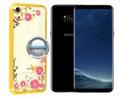 Spring dėklas nugarėlė Samsung Galaxy S8+ telefonams aukso spalvos