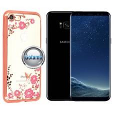 Spring dėklas nugarėlė Samsung Galaxy S8+ telefonams rožinės spalvos Šiauliai | Vilnius | Palanga
