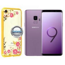 Spring dėklas nugarėlė Samsung Galaxy S9 telefonams aukso spalvos Vilnius | Šiauliai | Palanga