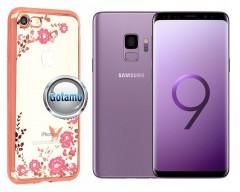 Spring dėklas nugarėlė Samsung Galaxy S9 telefonams rožinės spalvos
