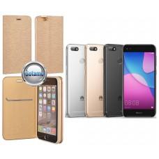 Vennus Diary dėklas Huawei P9 Lite mini telefonams aukso spalvos Plungė | Klaipėda | Palanga
