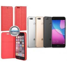 Vennus Diary dėklas Huawei P9 Lite mini telefonams raudonos spalvos Kaunas | Palanga | Telšiai