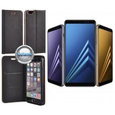 Vennus Diary dėklas Samsung Galaxy A8+ (2018) telefonams juodos spalvos Plungė | Vilnius | Vilnius