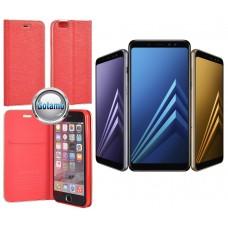 Vennus Diary dėklas Samsung Galaxy A8+ (2018) telefonams raudonos spalvos Palanga | Kaunas | Šiauliai