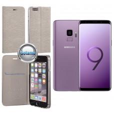 Vennus Diary magnetinis dėklas Samsung Galaxy S9 mobiliesiems telefonams (G960D, G960F, G960N, G960U, G960W) sidabro spalvos Telšiai | Telšiai | Vilnius