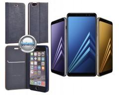 Vennus Diary magnetinis dėklas Xiaomi Redmi Note 5A mobiliesiems telefonams mėlynos spalvos