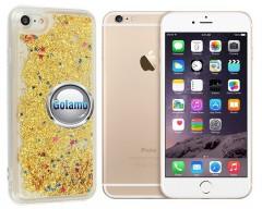 Waterfall dėklas nugarėlė Apple iPhone 6 Plus 6s Plus telefonams aukso spalvos