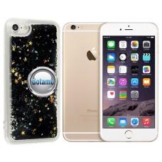 Waterfall dėklas nugarėlė Apple iPhone 6 Plus 6s Plus telefonams juodos spalvos