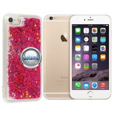 Waterfall dėklas nugarėlė Apple iPhone 6 Plus 6s Plus telefonams rožinės spalvos