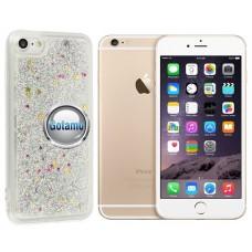 Waterfall dėklas nugarėlė Apple iPhone 6 Plus 6s Plus telefonams sidabro spalvos