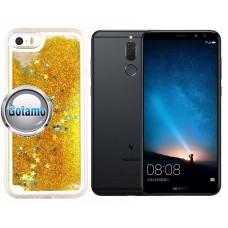 Waterfall dėklas nugarėlė Huawei Mate 10 Lite telefonams aukso spalvos Kaunas | Klaipėda | Plungė