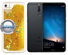 Waterfall dėklas nugarėlė Huawei Mate 10 Lite telefonams aukso spalvos
