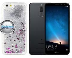 Waterfall dėklas nugarėlė Huawei Mate 10 Lite telefonams sidabro spalvos