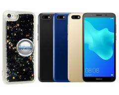 Waterfall dėklas nugarėlė Huawei Y5 (2018) Huawei Honor 7S telefonams juodos spalvos
