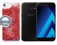 Waterfall dėklas nugarėlė Samsung Galaxy A3 (2017) mobiliesiems telefonams raudonos spalvos