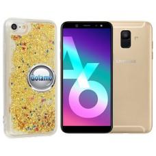 Waterfall dėklas nugarėlė Samsung Galaxy A6 (2018) telefonams aukso spalvos Klaipėda | Klaipėda | Palanga