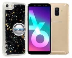 Waterfall dėklas nugarėlė Samsung Galaxy A6 (2018) telefonams juodos spalvos