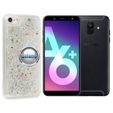 Waterfall dėklas nugarėlė Samsung Galaxy A6+ (2018) telefonams sidabro spalvos Kaunas | Plungė | Palanga
