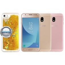 Waterfall dėklas nugarėlė Samsung Galaxy J3 (2017) mobiliesiems telefonams aukso spalvos Plungė | Telšiai | Kaunas