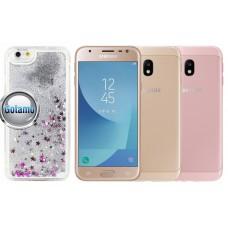 Waterfall dėklas nugarėlė Samsung Galaxy J3 (2017) mobiliesiems telefonams sidabro spalvos Kaunas | Šiauliai | Šiauliai
