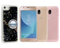 Waterfall dėklas nugarėlė Samsung Galaxy J3 (2017) telefonams juodos spalvos