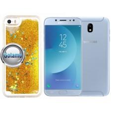 Waterfall dėklas nugarėlė Samsung Galaxy J7 (2017) J7 Pro telefonams aukso spalvos Klaipėda | Telšiai | Telšiai