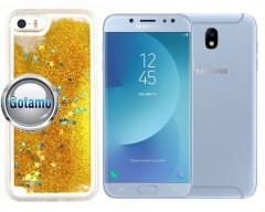 Waterfall dėklas nugarėlė Samsung Galaxy J7 (2017) J7 Pro telefonams aukso spalvos