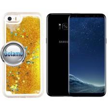 Waterfall dėklas nugarėlė Samsung Galaxy S8+ telefonams aukso spalvos Palanga | Plungė | Šiauliai