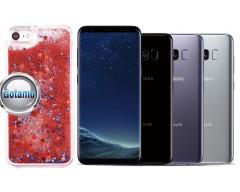 Waterfall dėklas nugarėlė Samsung Galaxy S8 telefonams raudonos spalvos
