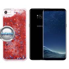 Waterfall dėklas nugarėlė Samsung Galaxy S8+ telefonams raudonos spalvos Klaipėda | Kaunas | Telšiai