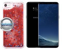 Waterfall dėklas nugarėlė Samsung Galaxy S8+ telefonams raudonos spalvos