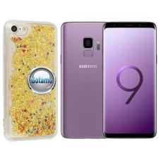 Waterfall dėklas nugarėlė Samsung Galaxy S9 telefonams aukso spalvos Plungė | Klaipėda | Klaipėda