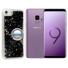 Waterfall dėklas nugarėlė Samsung Galaxy S9 telefonams juodos spalvos