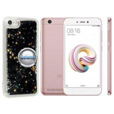 Waterfall dėklas nugarėlė Xiaomi Redmi 5A telefonams aukso spalvos