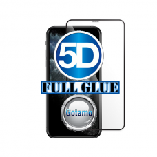 Apsauga ekranui gaubtas grūdintas stiklas Apple iPhone 11 Pro mobiliesiems telefonams juodos spalvos 5D pilnas padengimas klijais Kaunas | Klaipėda | Palanga