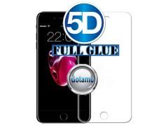Apsauga ekranui gaubtas grūdintas stiklas Apple iPhone 6 6s mobiliesiems telefonams skaidrus 5D pilnas padengimas klijais
