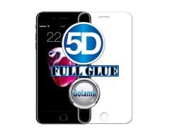 Apsauga ekranui gaubtas grūdintas stiklas Apple iPhone 6 Plus 6s Plus mobiliesiems telefonams skaidrus 5D pilnas padengimas klijais