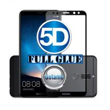 Apsauga ekranui gaubtas grūdintas stiklas Huawei Mate 10 Lite mobiliesiems telefonams juodos spalvos 5D pilnas padengimas klijais Kaunas | Plungė | Plungė