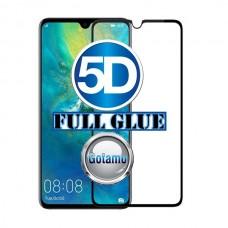 Apsauga ekranui gaubtas grūdintas stiklas Huawei Mate 20 mobiliesiems telefonams juodos spalvos Klaipėda | Kaunas | Šiauliai
