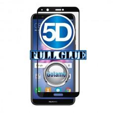 Apsauga ekranui gaubtas grūdintas stiklas Huawei P Smart mobiliesiems telefonams juodos spalvos Plungė | Šiauliai | Klaipėda