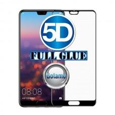 Apsauga ekranui gaubtas grūdintas stiklas Huawei P20 mobiliesiems telefonams juodos spalvos Telšiai | Kaunas | Kaunas