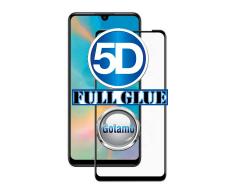 Apsauga ekranui gaubtas grūdintas stiklas Huawei P30 mobiliesiems telefonams juodos spalvos 5D pilnas padengimas klijais