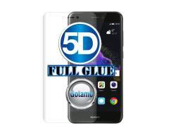 Apsauga ekranui gaubtas grūdintas stiklas Huawei P9 Lite (2017) mobiliesiems telefonams skaidrus 5D pilnas padengimas klijais