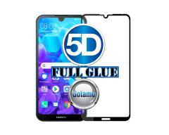 Apsauga ekranui gaubtas grūdintas stiklas Huawei Y5 (2019) Huawei Honor 8S mobiliesiems telefonams juodas 5D pilnas padengimas klijais