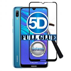 Apsauga ekranui gaubtas grūdintas stiklas Huawei Y6 (2019) Huawei Honor 8A mobiliesiems telefonams juodos spalvos 5D pilnas padengimas klijais Šiauliai | Šiauliai | Vilnius