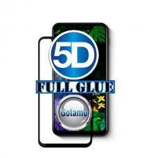 Apsauga ekranui gaubtas grūdintas stiklas LG G8S ThinQ mobiliesiems telefonams juodos spalvos 5D pilnas padengimas klijais Telšiai | Vilnius | Vilnius