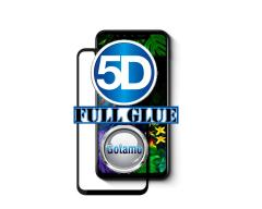 Apsauga ekranui gaubtas grūdintas stiklas LG G8S ThinQ mobiliesiems telefonams juodos spalvos 5D pilnas padengimas klijais