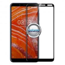 Apsauga ekranui gaubtas grūdintas stiklas Nokia 3.1 Plus mobiliesiems telefonams juodos spalvos Plungė | Telšiai | Plungė